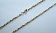 24 Inch 61cm 2.4mm Thick 9ct Gold Prince of Wales Chain 6.8g